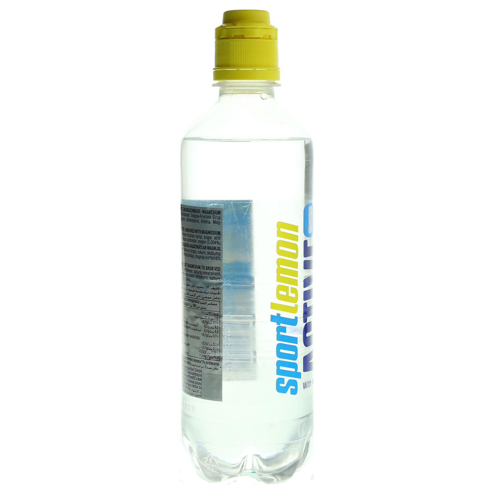 ACTIVE O2 OXYGEN WATER CITRUS 500ML