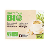 Carrefour Bio Organic Cane Brown Sugar  500g