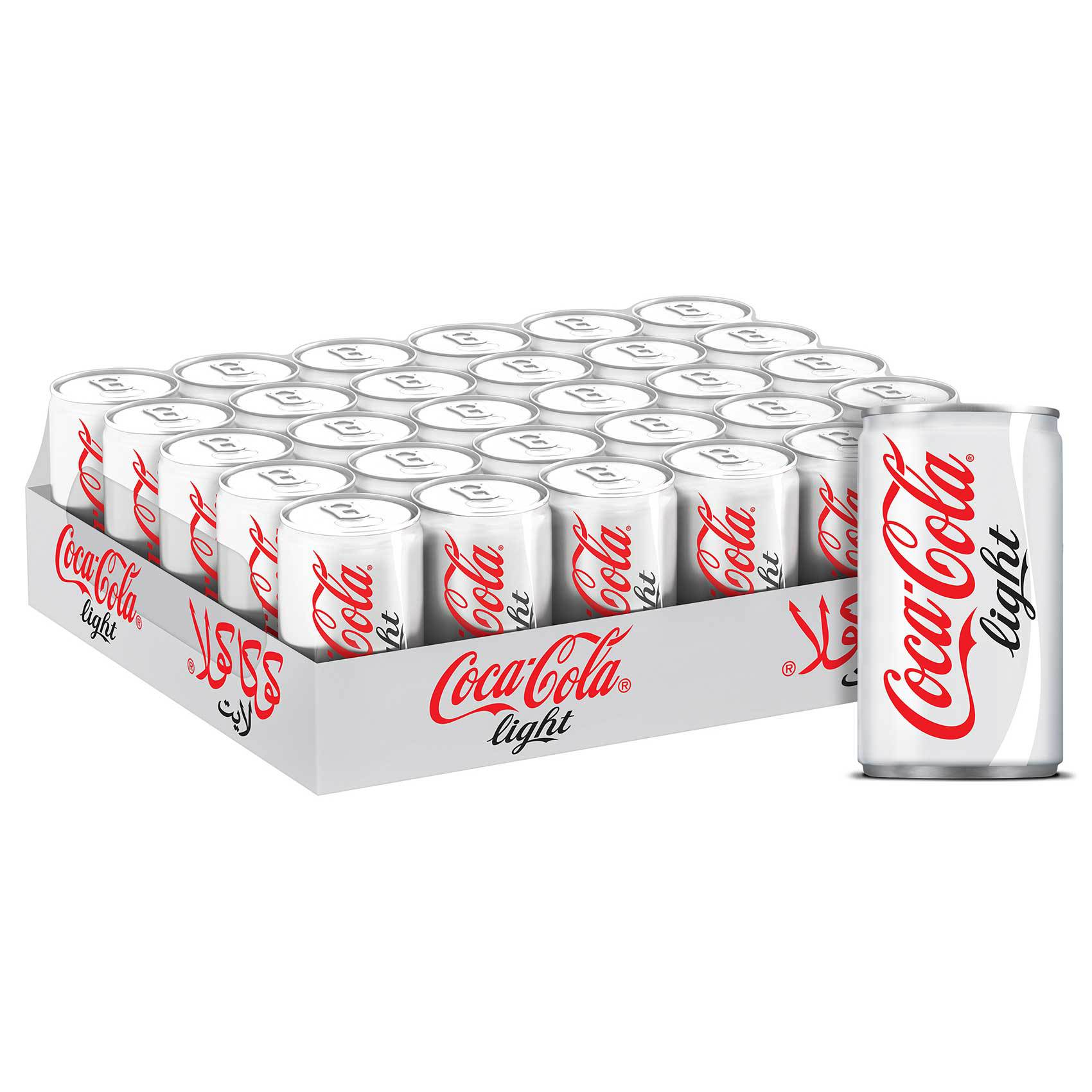 COCA COLA LIGHT CAN 150MLX30