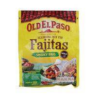 Old El Paso Seasoning Mix For Fajitas Smoky BBQ Mild 35g