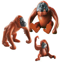 Playmobil City Life Orangutan Family