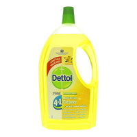 Dettol 4In1 Lemon Disinfectant Multi Action Cleaner 3L