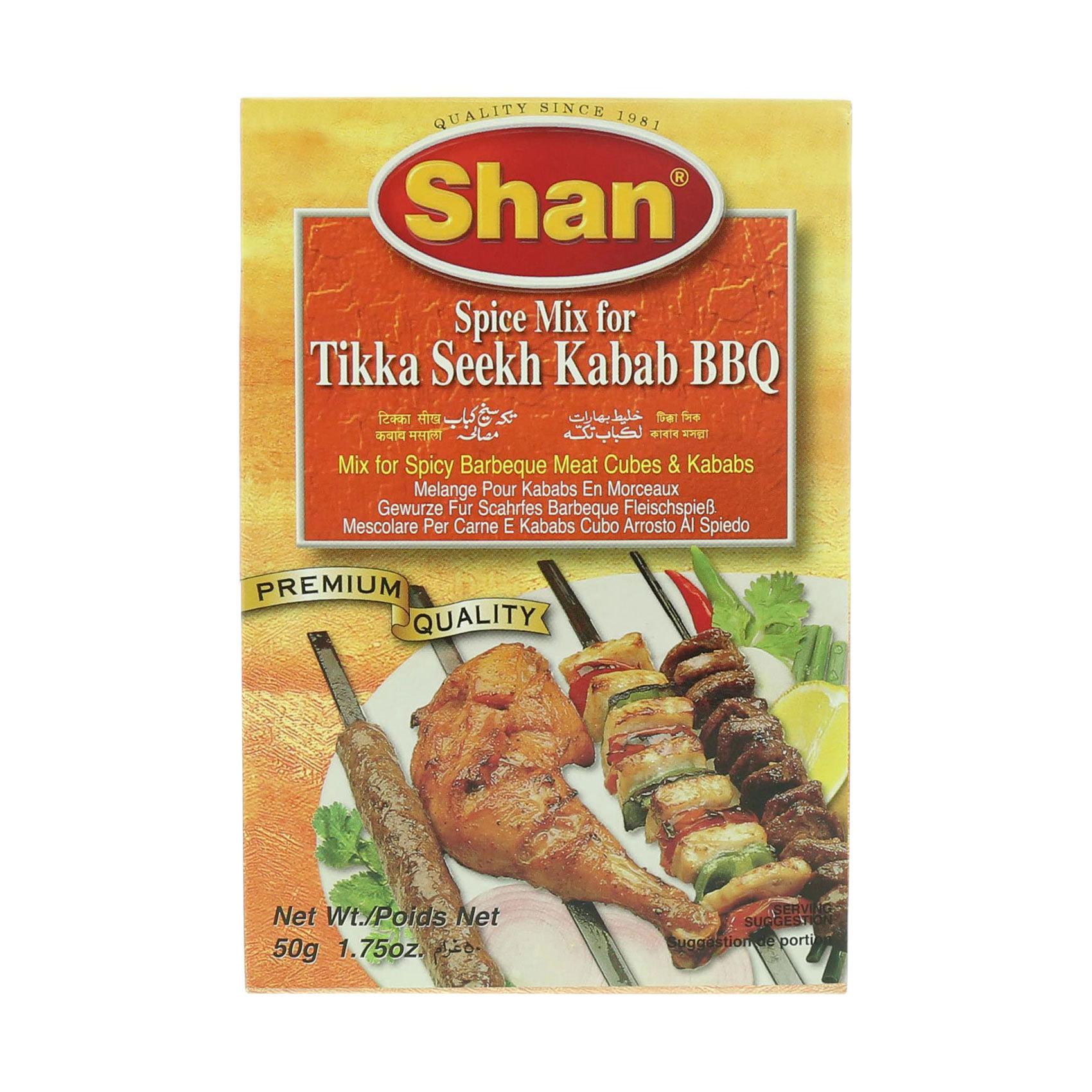 SHAN TIKKA SEEKH KABAB BBQ 50G