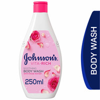 Johnson's  Body Wash Vita-Rich Soothing with Rose Water 250ml