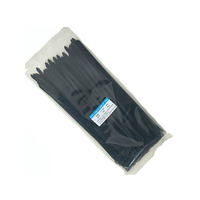 Nylon Cable Black Ties 7.6X300MM 100 Pieces/Bag