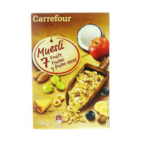 Carrefour Muesli 7 Fruits Cereals 750g