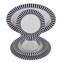 Rim Shape Dinner Set Og-6299 26Pcs