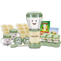 Baby Bullet Baby Care System BBR-2212M 22pc Set White & Green 200W