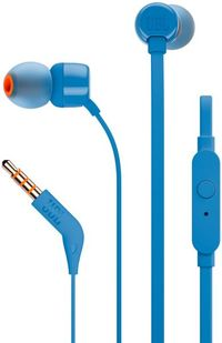 JBL In-Ear Headphone T110 Blue