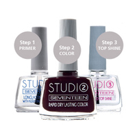 Seventeen Nail Polish Studio Dry Lasting 12ML No 12