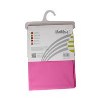 باث لوكس ستارة حمام قياس 180×180 سنتيمتر لون وردي