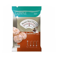 Lightful Brown Rice Chips Barbeque 30GR