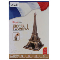 Cubic Fun Eiffel Tower 3D Puzzle Big