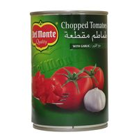 Del Monte Chopped Tomatoes with Garlic 400g