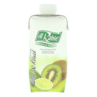 Al Rabie Lime And Kiwi Premium Drink 330ml