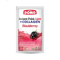 Domo Instant Drink Light Blackberry With Collagen 8GR