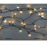 Outdoor Lv 17.49M 160Led Ww Light Chain 8Functions N82B