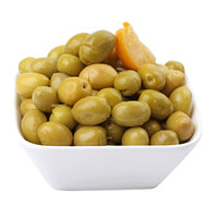 Green Moroccan Olives with Lemon