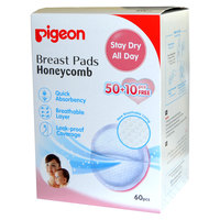Pigeon Breast Pads (Honey Comb) 50 + 10 Free Pieces