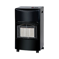 Campomatic Gas Heater GH3BL Black
