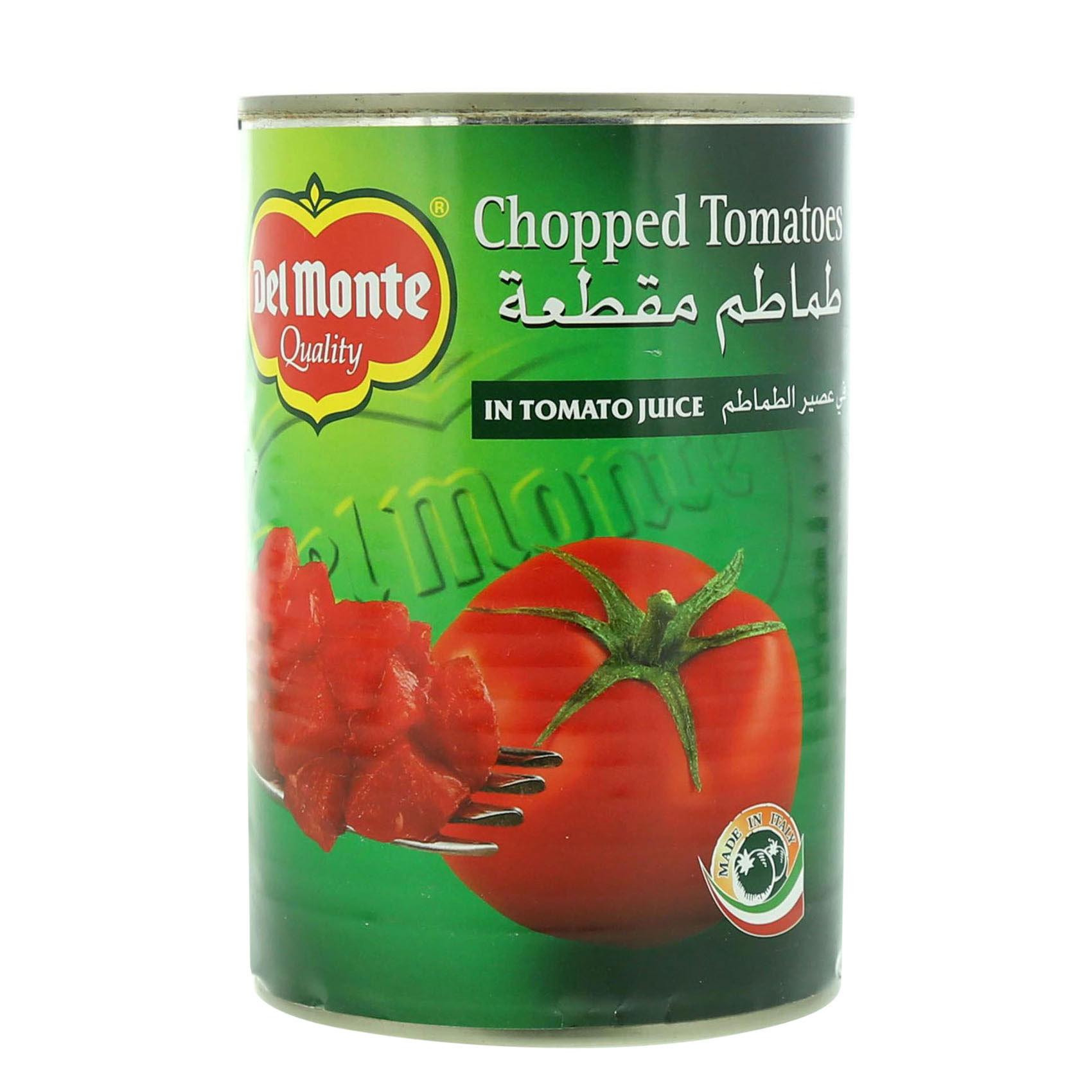 DEL MONTE TOMATO CHOPPED 400GR