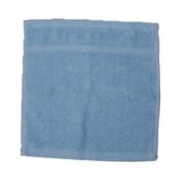 كنزي منشفة للوجه قياس 30x30 سم لون أزرق فاتح