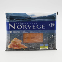 Carrefour Smoked Salmon Norwegian 4S
