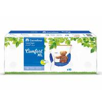 Carrefour Toilet Roll Comfort XL 400 Sheet 2 Ply 10 Rolls