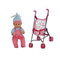 Doll With Stroller 28 Cm Non B/O Age 3 Years