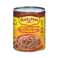 Old El Paso Spicy Fat Free Refried Beans 453GR
