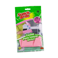 Scotch Brite Gloves Medium Delicate Lemon