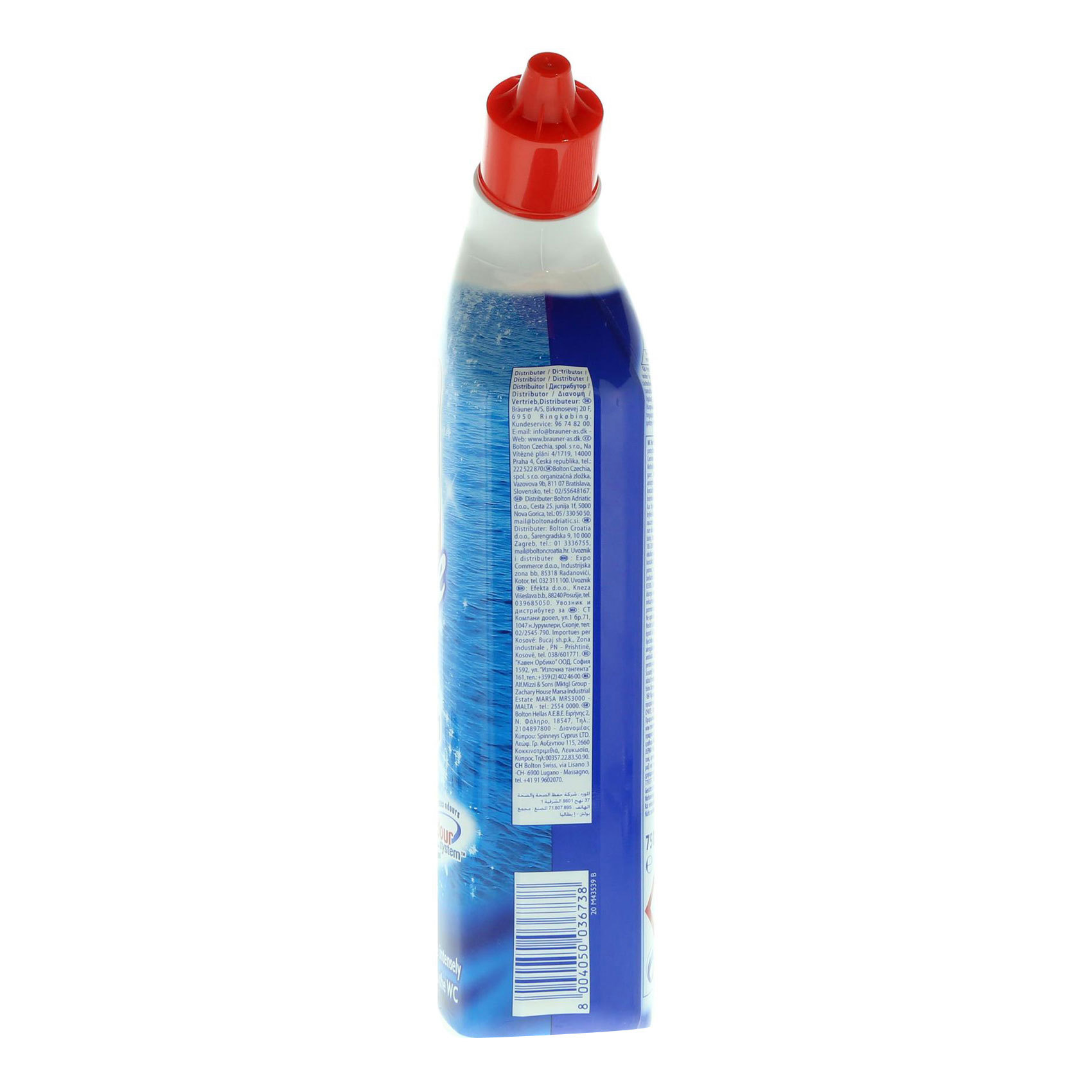 WC NET LIQ CLNR BLUE ACTION 750ML