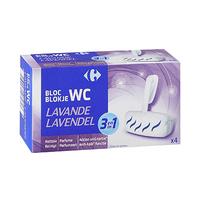 Carrefour Bloc WC Lavande 38GR X 4