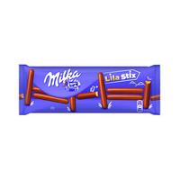 Milka Lila Stix Chocolate Cookies 112GR