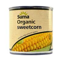 Suma Organic Sweet Corn 340GR