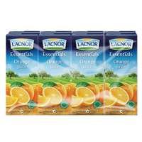 Lacnor Essentials Orange Juice 180mlx8