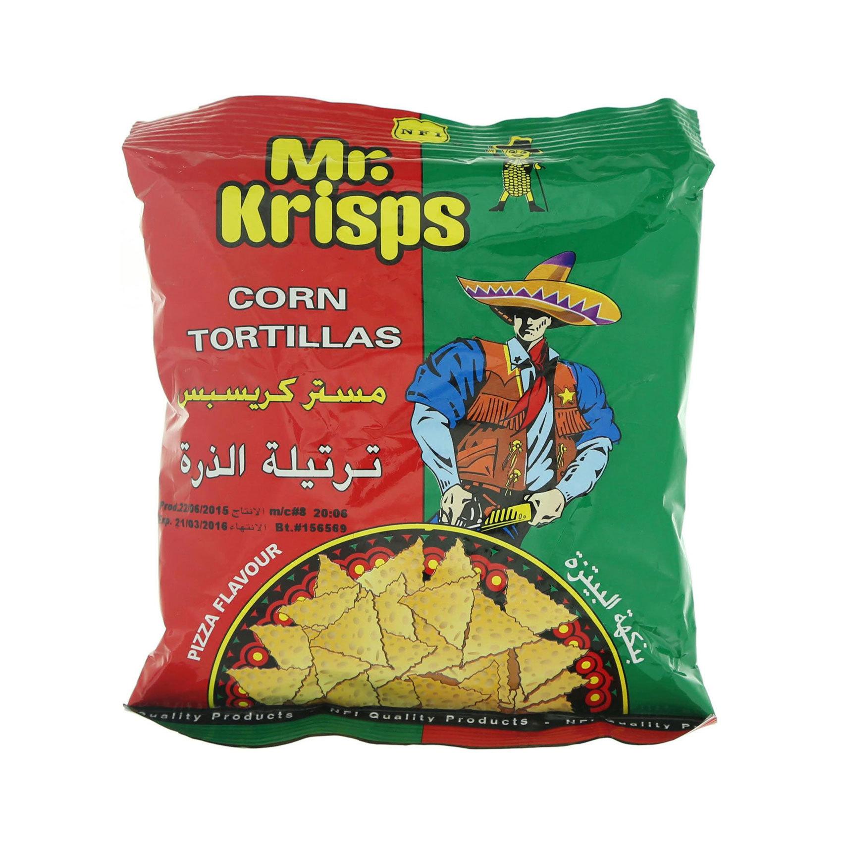 MR KRISPS TORTILLA CHIPS 15GR