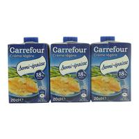 Carrefour Light Cream Semi Thick 20 clx 3