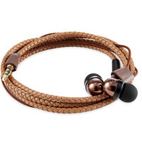 Zook Earphone Wristwrap Brown