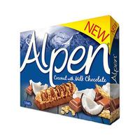 Alpen Cereal Bar Coconut Milk 29GR X 5