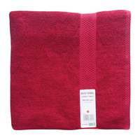 Tendance's Bath Towel 70x140cm Dark Red