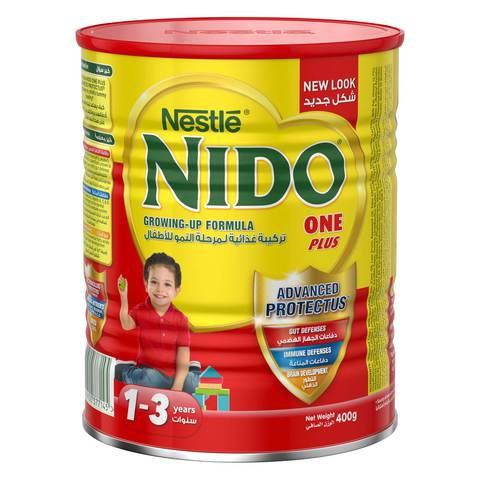 Nestlé-Nido-FortiProtect-One-Plus-(1-3-Years-Old)-Growing-Up-Milk-Tin-400g