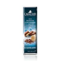 Cavailer Chocolate Bar Milk Banana Cocoanibs No Sugar 40GR
