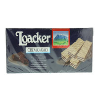 Loacker Crispy Wafers Filled with Cocoa & Chocolate Cream 1125g