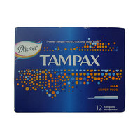 Tampax Clean System Super Plus 12 Tampons