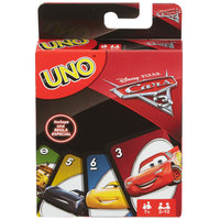 Mattel Uno Cars 3 Games