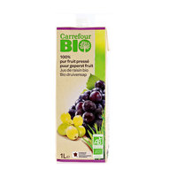 Carrefour Bio Organic Juice Grapes 1L