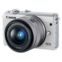 Canon SLR EOS M100 EF-M 15-45 IS White