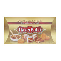 Hazer Baba Apricot & Almond & Honey Turkish Delight 454g