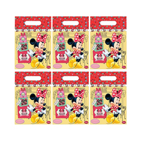 Disney Minnie Mouse Cafe Party Bags 6 Pieces